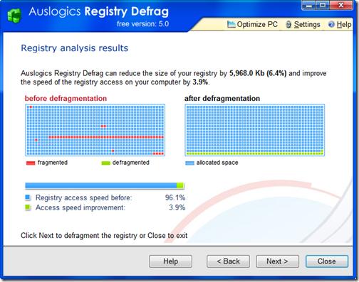 AuslogicsRegistryDefrag.AnalysisResults
