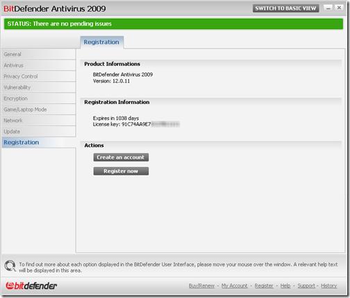 BitDefenderAntivirus2009.ProductInformations