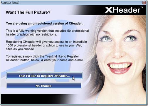XHeader.Register