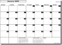 Calendar.2009.Monthly.Landscape