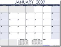 Calendar.2009.Monthly.Landscape.Blue
