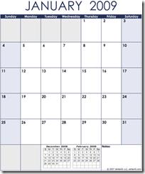 Calendar.2009.Monthly.Potrait.Blue