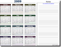 Calendar.2009.Yearly.Landscape