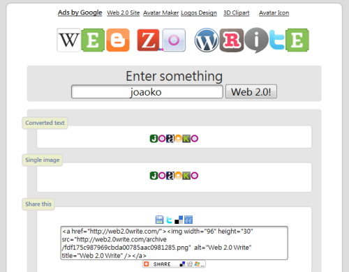 Web2.0Write
