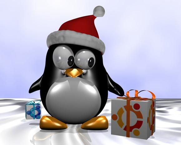 Christmas-Tux-ubuntu