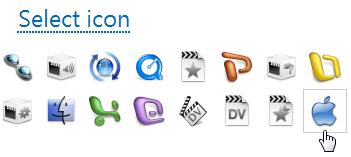 Iconizer - 選擇圖示
