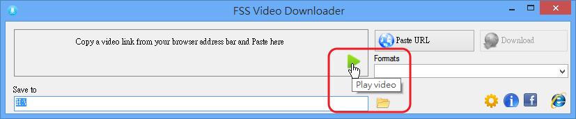 FSS Video Downloader - 播放下載完成的影片