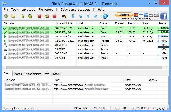 File  & Image Uploader - 檔案上傳完成