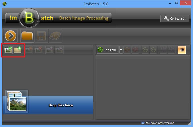ImBatch - 匯入圖片