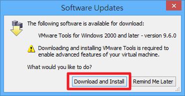 VMWare Player - 下載並安裝 VMWare Tools